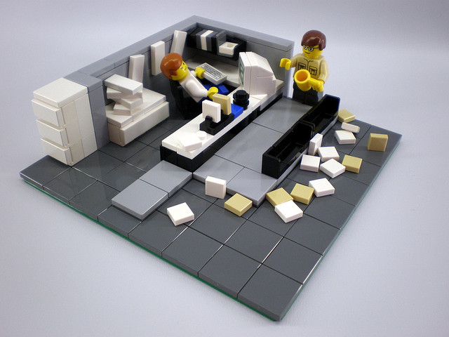 Office Space. By Legozilla